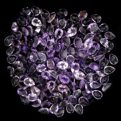 35: 100.30CT Amethyst Parcel - Gemstone Investment
