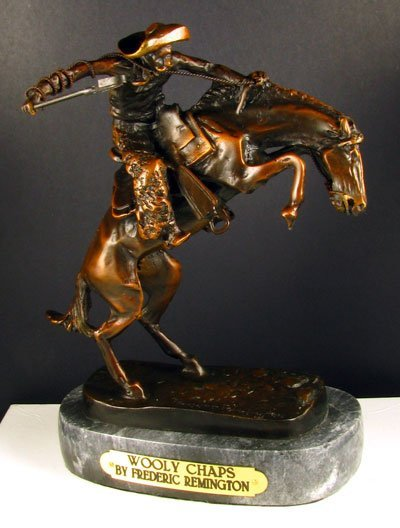 55: Frederic Remington - Wooly Chaps - Collect