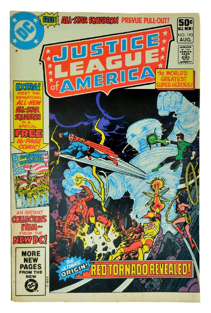 Justice League of America (1960 1st Series) Issue 193
