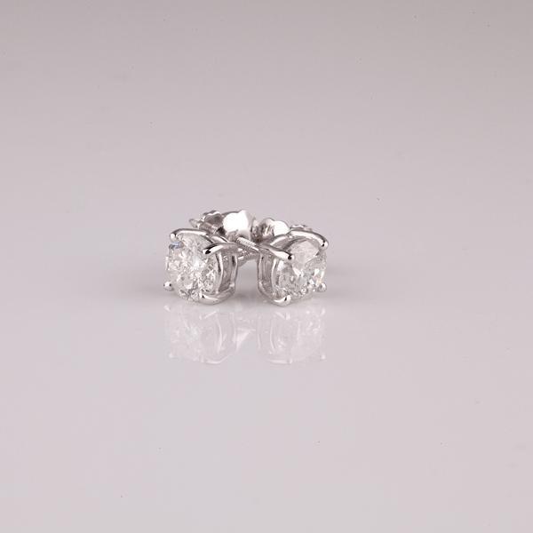 APP: 0.9k 14 kt. White Gold, 0.25CT Round Cut Diamond