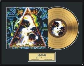 312: DEF LEPPARD ''Hysteria'' Gold Record-Fan Favorite