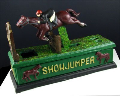 322: Showjumper Bank-Cast Iron-Collect