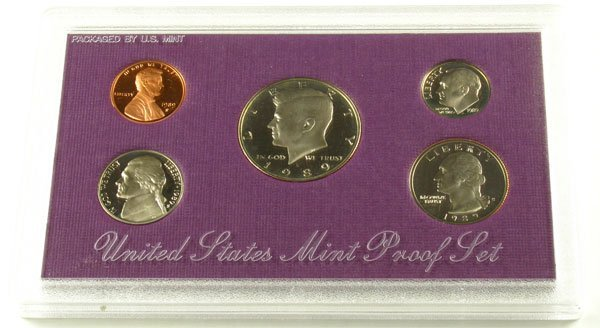 330: 1989 US Mint Proof Set Coin-Investment Potential
