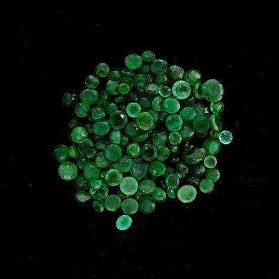 35: APP: $9.9k 20.10CT Round Emerald Parcel-Precious Ge