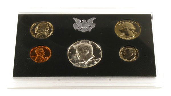 332: 1968 US Proof Set  Coin - Investment Potential