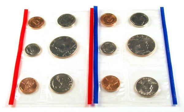 344: 1994 US Mint Uncirculated Coin Set - Investment Po