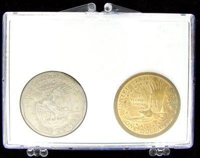 2335: 2000 Sacagawea Dollar &  Susan B. Anthony Dollar  - 2