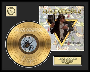 37: ALICE COOPER ''Welcome to my Nightmare'' Gold Recor