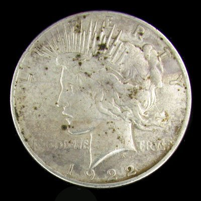 9: 1922 Peace Type Silver Dollar Coin - Investment Pote