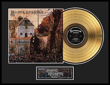 35: BLACK SABBATH ''Black Sabbath'' Gold Record - Colle