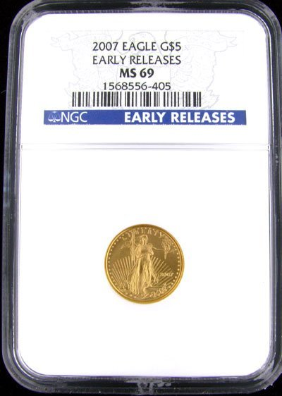 37: 2007 $5 US Eagle Gold Coin - Investment Potential