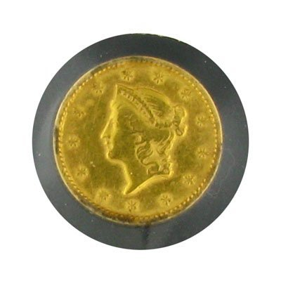 1707: 1853 $1 US Liberty Gold Coin - Investment Potenti