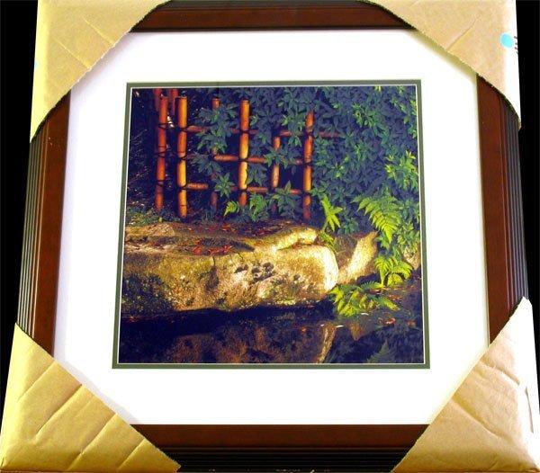 19: MICHAEL SEEWALD Rock and Bamboo Close-up Koraku-en