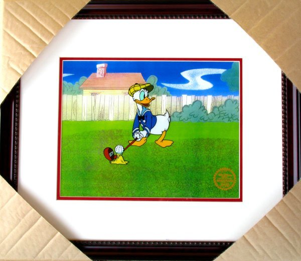 2238: Limited Edition Walt Disney Donald Duck Serigraph