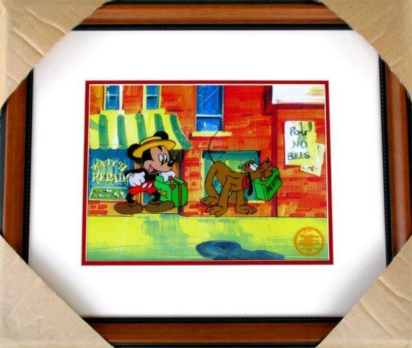 2704: Limited Edition Walt Disney Mickey and Pluto Seri