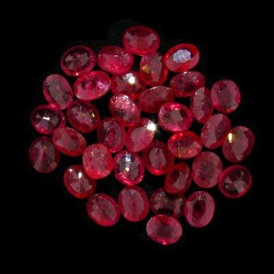 2714: APP: 53.6k 30.13CT Oval Ruby Parcel-Precious Gems
