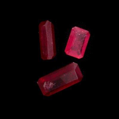 2746: APP: 26k 9.73CT Radiant Cut Ruby Parcel-Precious