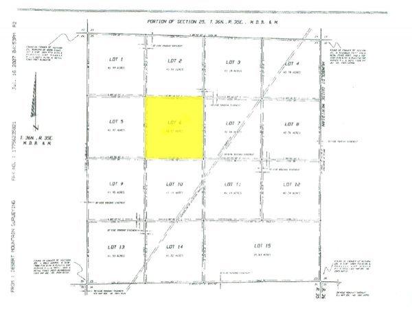 2020: GOV: NV LAND, 41.57 AC. RANCHETTE, B&A $227/mo - 2