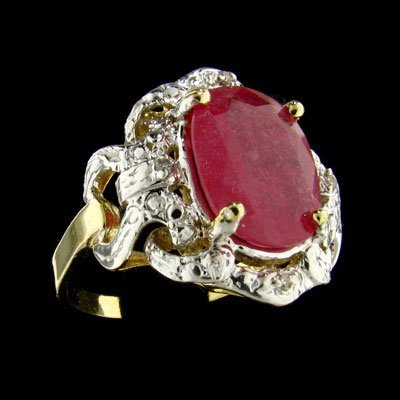 2008: APP: $6.4k 14 kt. Gold, 3.69CT Ruby and Diamond R