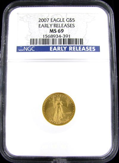 2024: 2007 $5 US Eagle Gold Coin - Potential Investment