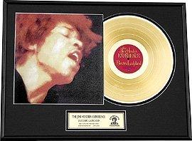 2928: JIMI HENDRIX ''Electric Ladyland'' Gold Record- C