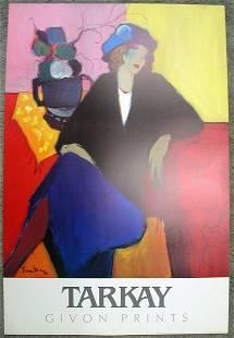 TARKAY After Suzanne Print 36 x 24