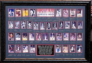 NBA 60 Greatest Plate Signatures
