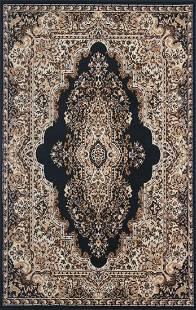 Gorgeous 5x8 Emirates 1513 Black Rug Plush High