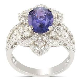 APP 96k 231ct UNHEATED Purple Sapphire and 136ctw