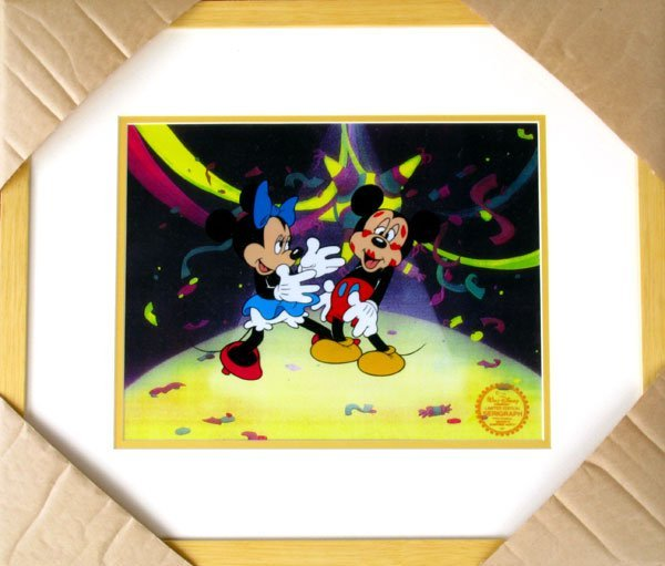 3: Limited Edition Walt Disney Mickey and Minnie Mouse