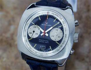 *Wittnauer Professional Chrono Date Men's Manual 1970