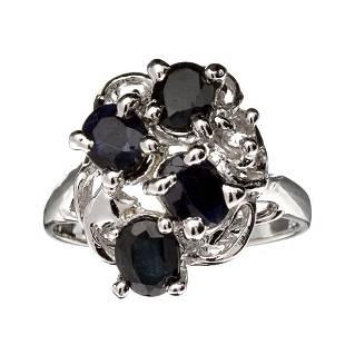 Fine Jewelry Designer Sebastian 180CT Blue Sapphire
