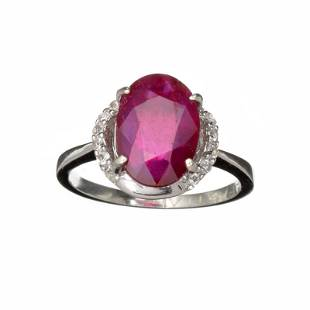 Fine Jewelry Designer Sebastian 357CT Ruby And