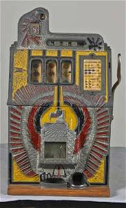 5 ¢ War Eagle Slot Machine Mills 1931-P-