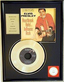 222: ELVIS PRESLEY ''Heartbreak Hotel'' Gold Record, Fa