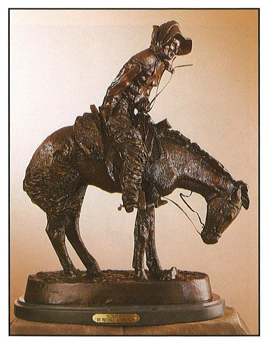 *Very Rare Small Norther Bronze by Frederic Remington