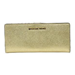 Gorgeous Brand New Never Used Pale Gold Michael Kors