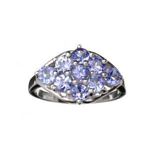 Designer Sebastian 180CT Oval Cut Violet Blue