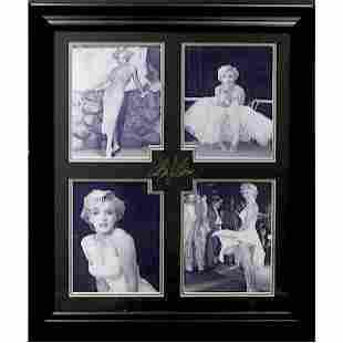 Marilyn Monroe Plate Signature