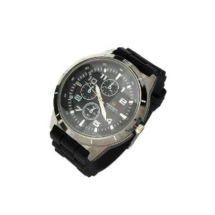Sheffield Mens Sports Watch With Black Band