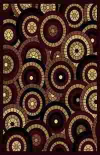 Gorgeous 5x8 Emirates Burgundy Rug Plush High Quality