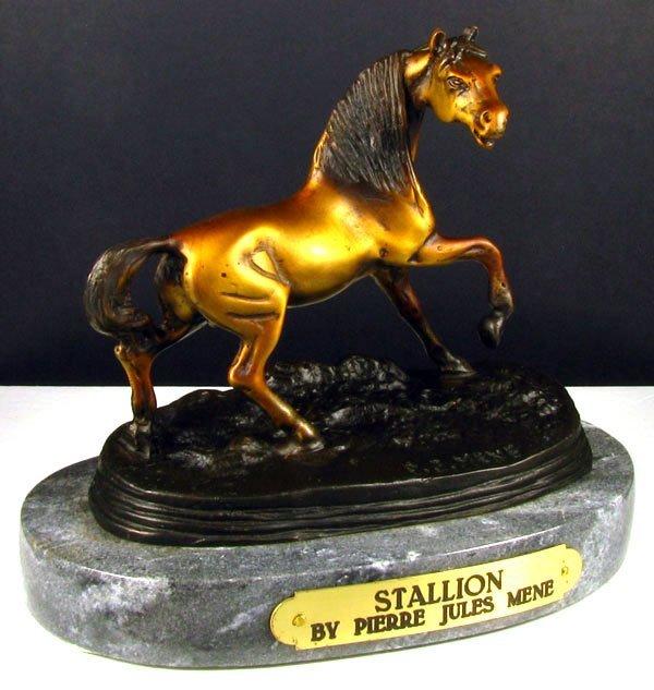 510: Frederic Remington Bronze - Stallion, Collect