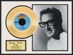 815: BUDDY HOLLY ''Oh Boy!'' Gold Record - Collect
