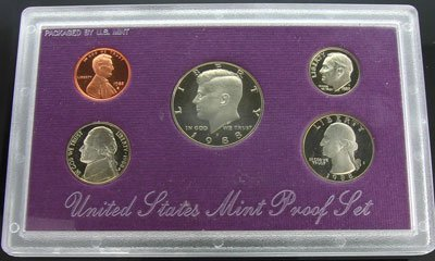 845: 1988 US Mint Proof Set  Coin - Investment Potentia