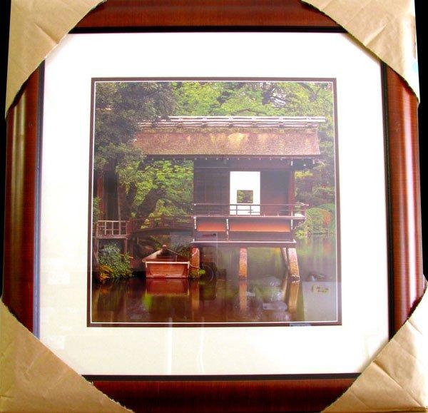 1907: MICHAEL SEEWALD Tea House w-boat, Kenroku-en Gard