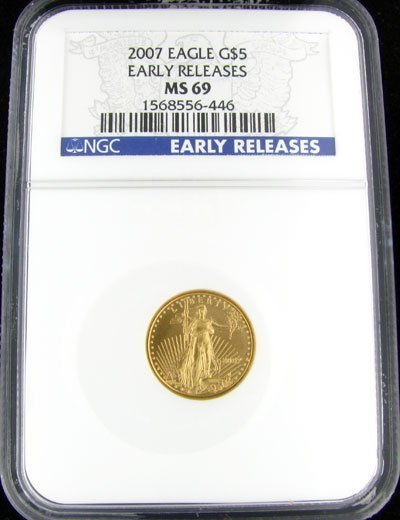 1915: 2007 $5 US Eagle Gold Coin - Investment Potential