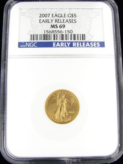 21: 2007 $5 American Eagle Gold Coin - Potential Invest