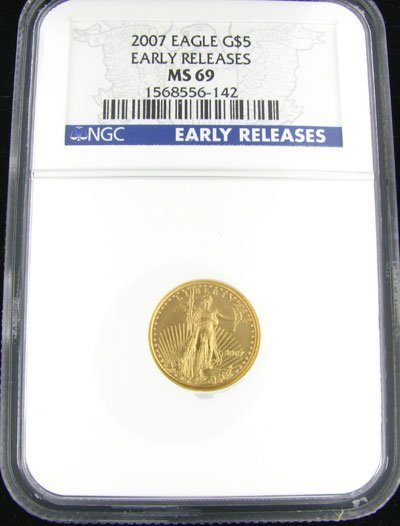 29: 2007 $5 American Eagle Gold Coin - Potential Invest