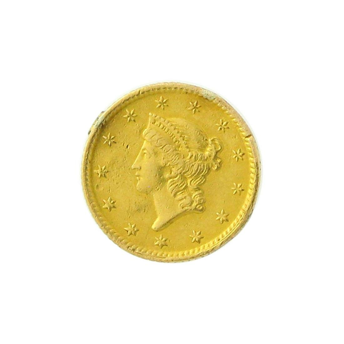 Extremely Rare 1851 $1 U.S. Liberty Head Gold Coin