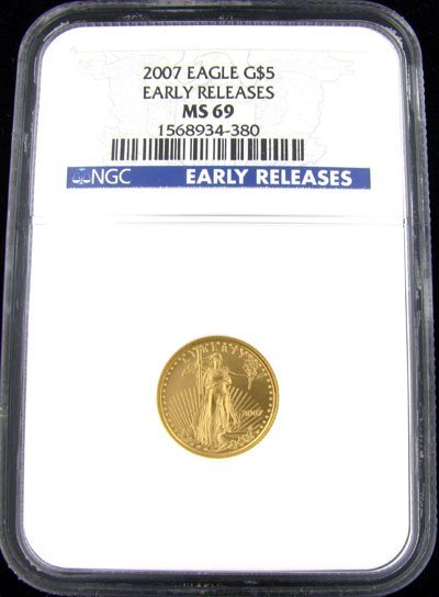 515: 2007 $5 US Eagle Gold Coin - Investment Potential